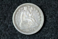 ESTATE  FIND 1842 O  SEATED LIBERTY DIME  D19231