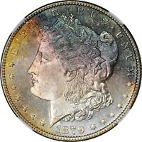 1879-S  NGC MINT STATE 65 STAR - FULLY PL OBV - AMAZING COLOR TONES
