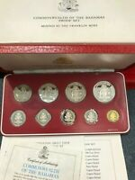 1983 BAHAMAS PROOF SET MINTED AT THE FRANKLIN MINT