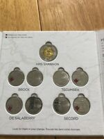 CANADA WAR OF 1812 COINS SET  IN ROYAL CANADIAN MINT ALBUM