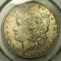 TONED UNCIRCULATED 1890 S MORGAN DOLLAR PCGS MINT STATE 63