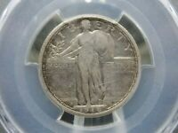 1916 STANDING LIBERTY QUARTER 25C PCGS VF DETAILS EAST COAST COIN & COLLECTABLES