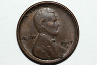 1917 S GRADES AU BRONZE WHEAT REVERSE LINCOLN SMALL CENT COIN LPX898