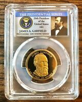 JAMES GARFIELD PRESIDENTIAL DOLLAR $1 2011 - S PCGS PR69DCAM
