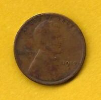 LINCOLN CENT - 1912 S - BRONZE - KM132
