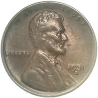 1931 S LINCOLN WHEAT CENT EXTRA FINE PENNY EXTRA FINE  SEE PICS E125
