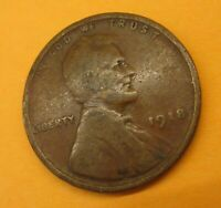 1918 LINCOLN WHEAT CENT CENT