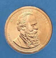 RUTHERFORD B HAYES PRESIDENTIAL DOLLAR COIN