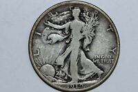 1919-DENVER FINE GRADES LIBERTY WALKING SILVER HALF DOLLAR WL1535