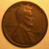 1951 D LINCOLN WHEAT CENT, FINISH YOUR BOOK WITH THIS CIRCULATED COIN