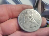 1859 O SEATED LIBERTY DOLLAR HIGHLY DEMANDED SILVER $ SERIES
