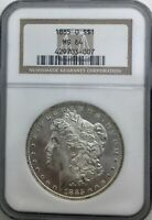 1885 O MORGAN DOLLAR NGC MS 64 FULLY FROSTED BUST WELL STRUCK BEAUTY