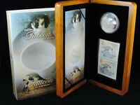 2006 $5 PROOF COIN PEREGRINE FALCON AND NESTLINGS TWO $2 STA