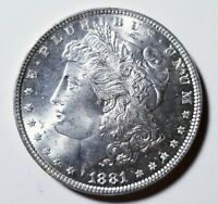1881 MORGAN SILVER DOLLAR GRADING GEM BU PRICED RIGHT SHIPPED FREE  E23