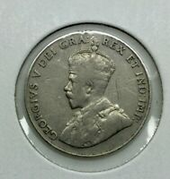 CANADA 1925 5 CENTS NICKELS GEORGE V KEY DATE TYPICAL LOWER GRADE