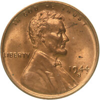 1944 S LINCOLN WHEAT CENT UNCIRCULATED PENNY US COIN