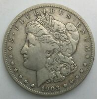 1903 S MORGAN DOLLAR MID GRADE ORIGINAL GREY COLOURATION SEMI KEY DATE