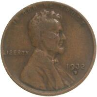1932 D LINCOLN WHEAT CENT  GOOD PENNY VG
