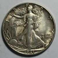1941 S WALKING LIBERTY HALF DOLLAR WR1201