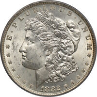 1882-O MORGAN SILVER DOLLAR.  PCGS MINT STATE 63.  C00050577