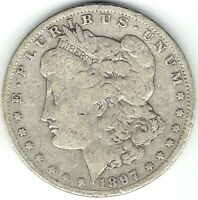 1897-O $1 MORGAN SILVER DOLLAR BETTER DATE BUT LOW GRADE EVEN HAS SCRATCHES