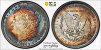 1883-O PCGS MINT STATE 63 MORGAN SILVER DOLLAR PCGS MINT STATE 63   TARGET TONED