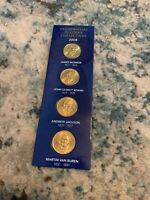 A 2008 S PRESIDENTIAL DOLLAR COMPLETE 4 COIN SET