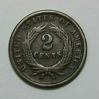 1864 TWO CENT PIECE   142457J