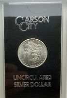 1882 CC CARSON CITY MORGAN DOLLAR  GSA  BOX & PROPER CERTIFICATE CHOICE COIN