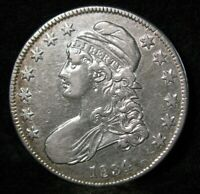 1834 CAPPED BUST SILVER HALF DOLLAR HIGH GRADE UNITED STATES