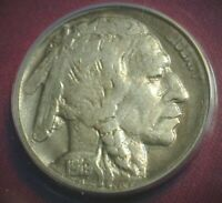 1919 D BETTER DATE BUFFALO NICKEL ANACS VF 20 DETAILS CLEANE