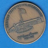 1900  1975, 76 GRAND AMERICAN AMATEUR TRAPSHOOTING ASSOCIATION COMMEMORATIVE CO