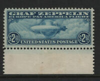 C15 MINT ORIGINAL GUM MARGIN SINGLE ZEPPELIN VF