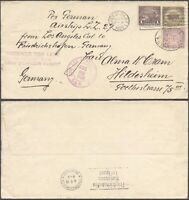 USA 1929   ZEPPELIN FLIGHT AIR MAIL COVER TO GERMANY V9/5