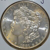 1881-S MS  HIGH QUALITY UNCIRCULATED/UNC MORGAN SILVER DOLLAR $1