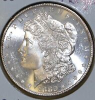 1880-S MS UNCIRCULATED/UNC MORGAN SILVER DOLLAR $1 COIN