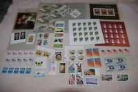 LOT OF UNUSED MNH US POSTAGE 100 STAMPS WITH SOME FOREVER FA