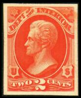 O16P4 PROOF INTERIOR 2C ANDREW JACKSON ON CARD MH SEE PHOTOS