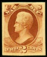 O84P4 PROOF WAR DEPT 2C ANDREW JACKSON ON CARD MH SEE PHOTOS
