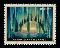 2020 $26.35 GRAND ISLAND ICE CAVES EXPRESS MAIL STAMP USED