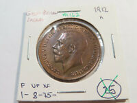 M162 GREAT BRITAIN 1912 H PENNY