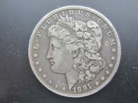 1891 MORGAN SILVER DOLLAR-CIRCULATED CONDITION
