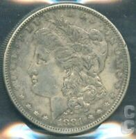 R4817.WAS $47. USA 1881 SILVER $1. CCCS VF-30