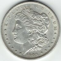 1903-P $1 MORGAN SILVER DOLLAR  AU GREAT FOR DATE SETS