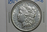 1891-P MORGAN 90 SILVER DOLLAR ABOUT UNCIRCULATED MDX4056