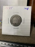 1835 CAPPED BUST DIME    CIRCULATED COIN