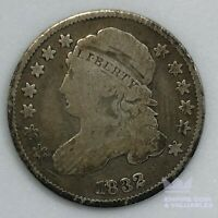 1832 CAPPED BUST DIME 10 CENTS 10C 900 SILVER COIN CB1M