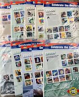 US POSTAGE LOT: ALL 10 SHEETS