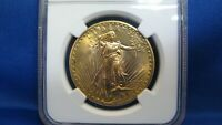 1926 $20 ST GAUDENS NGC MS66 DOUBLE EAGLE GOLD COIN   RARE G