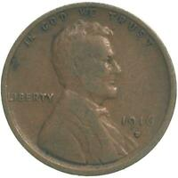 1916 D LINCOLN WHEAT CENT  GOOD PENNY VG